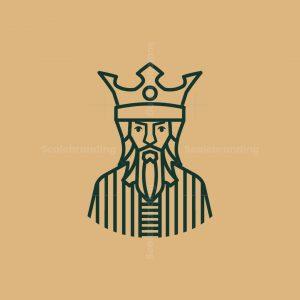 Beraded King Lineart Logo