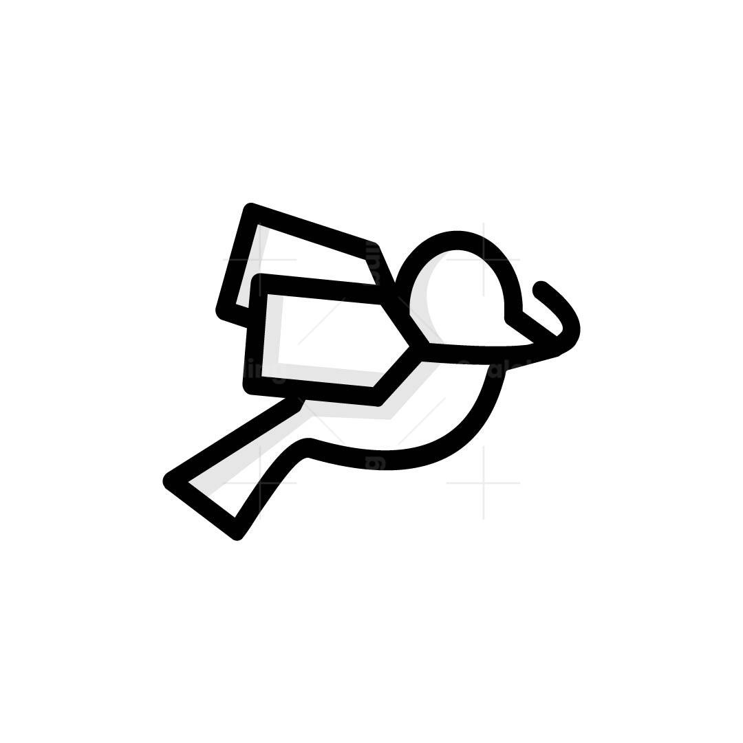 Bird Price Tag Logo