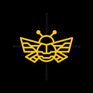 Bug Monoline Logo