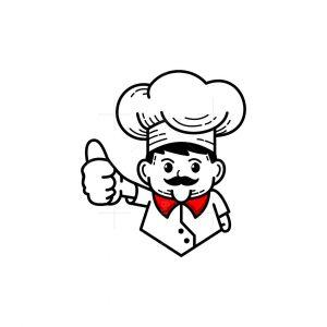 Chef Mascot Logo