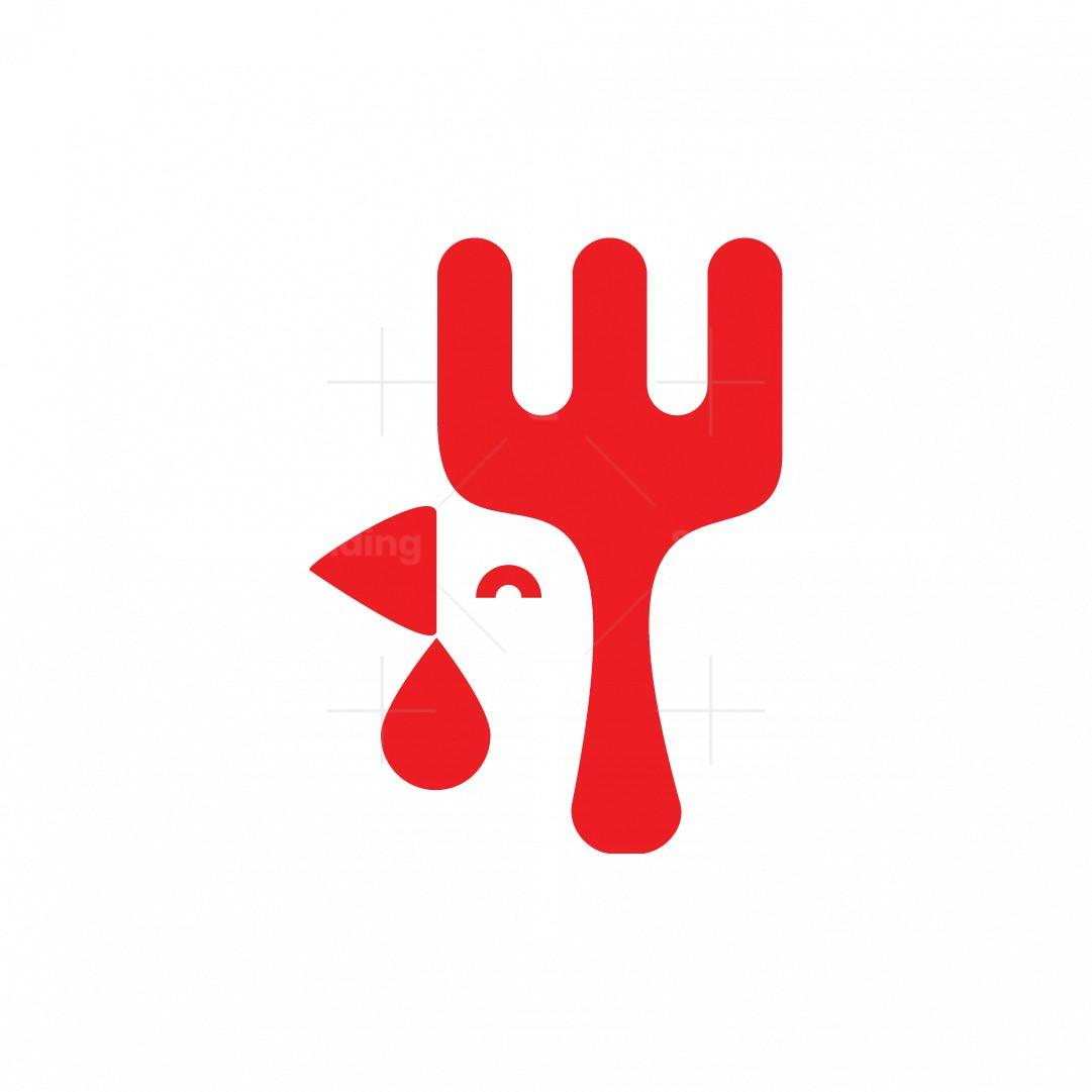 Chicken Fork Logo