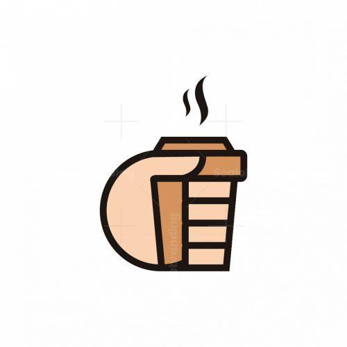 Coffee In Hand Logo