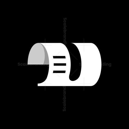 D Paper Logo
