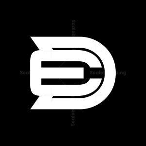 Modern Sporty D E De Ed Logo