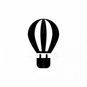 Electric Air Balloon Logo