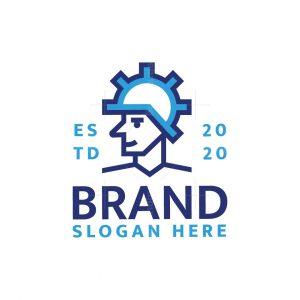 Engineering Man Logo