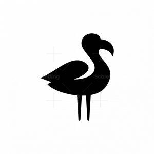 Flaminggo Bird Logo