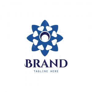 Flower Hearts Logo