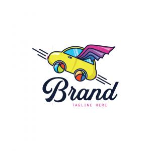 Flying Car For Kids Logo