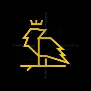 Geometric Raven Logo