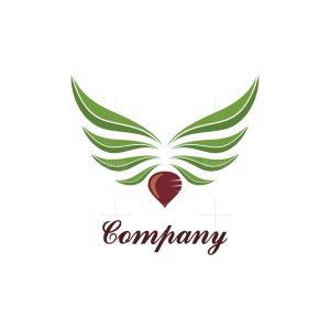 Green Wings Beet Logo