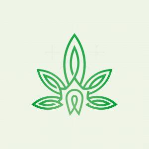 Cannabis Knot Logo