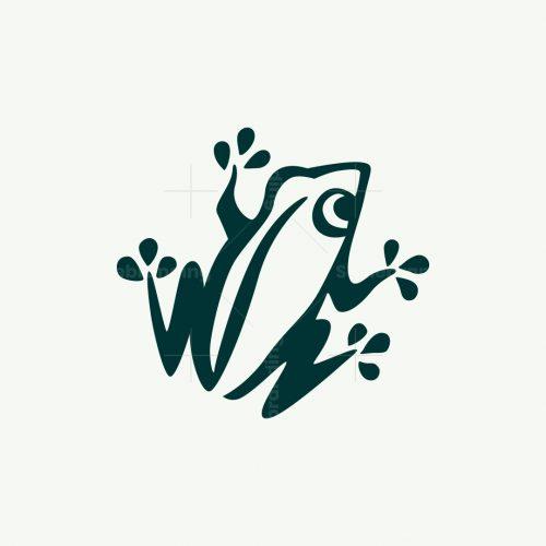 Simple Frog Logo