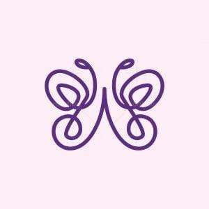 Butterfly Knot Logo