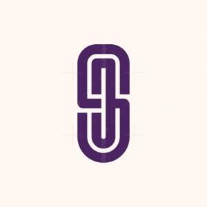 Sj Letter Monogram Logo