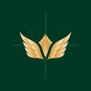 Wings Crown Logo