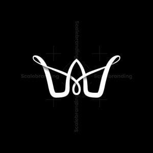 Crown Letter W Logo