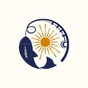 Fishing Fish Logo