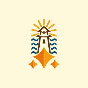 Shining Lighthouse Logo