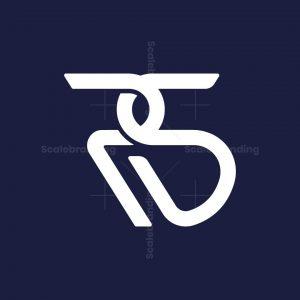 Rs Letter Monogram Logo