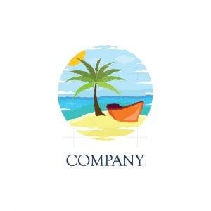 Island Vacations Logo