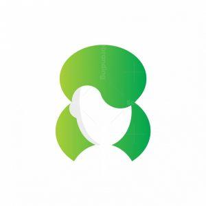 Letter 8 Women Logo