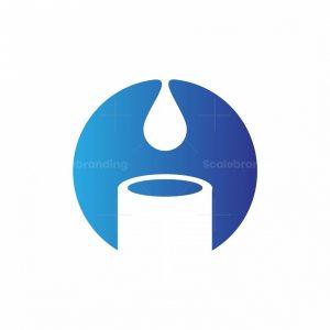 Letter O Paint Logo