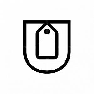 Letter U Shop Logo