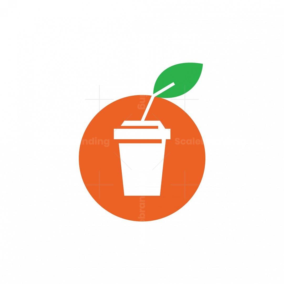Letter O Juice Logo