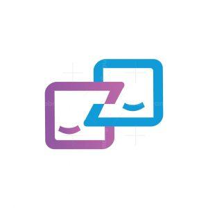 Letter Z Chat Logo