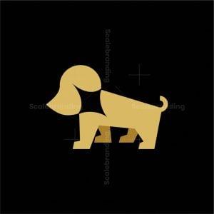 Lightning Dog Logo