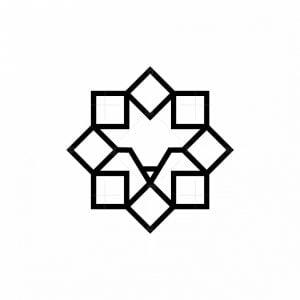 Lion Eight Square Logo