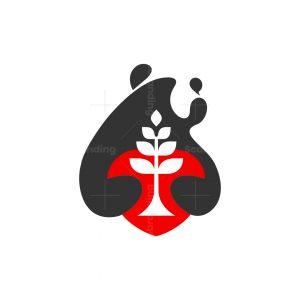 Logo Bear Love Green Earth