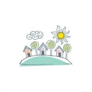 Landscape Nature House Logo