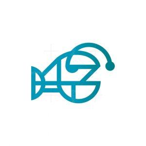 Angler Fish Logo Anglerfish Logo