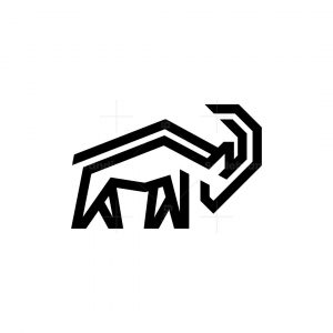 Wild Goat Logo Ram Logo