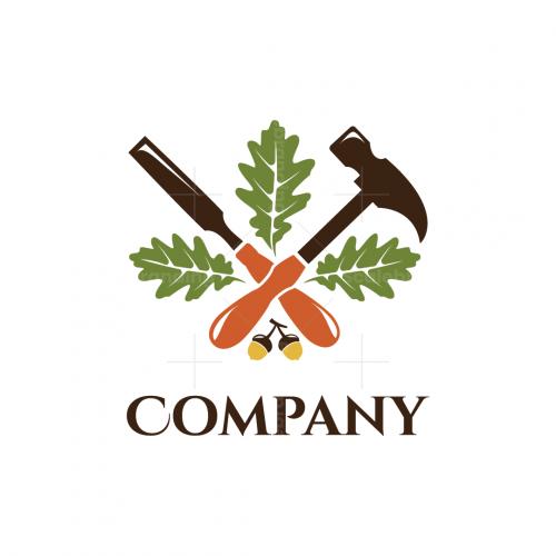 Oak Craft Wood Flooring Company Logo