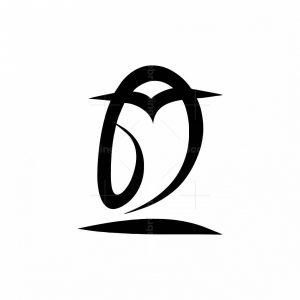 Owl Abstract Logo