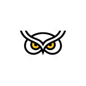 Owl Icon Logo