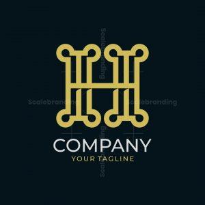 Stylish Letter H Logo