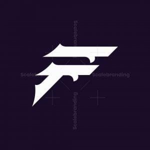 Letter F Classic Logo