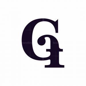 Letter Gf Logo