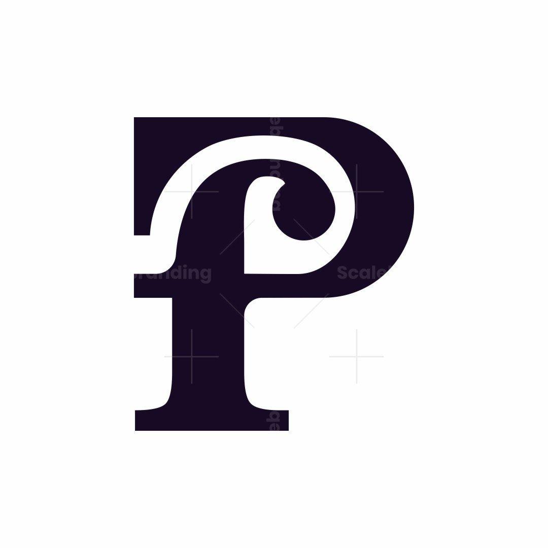 Letter Pf Logo
