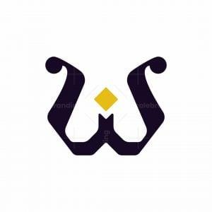 Letter W Classic Logo
