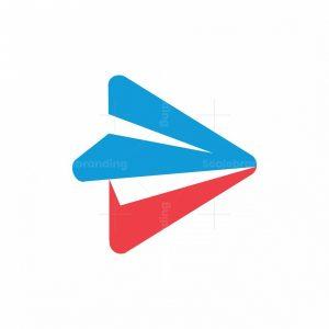 Play Paper Airplane Logo