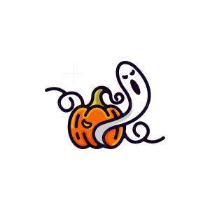 Pumpkin Ghost Logo