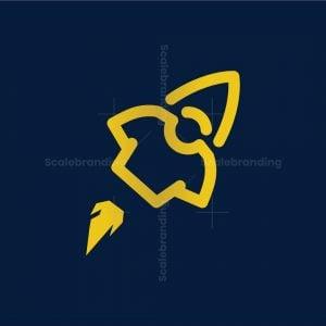 Rocket Tshirt Logo