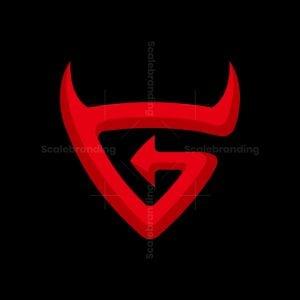 Devilish G Letter Logo