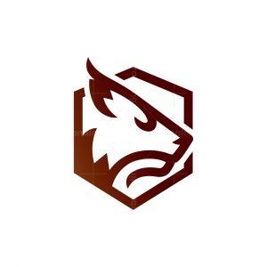 Shield Lynx Logo Shield Caracal Logo