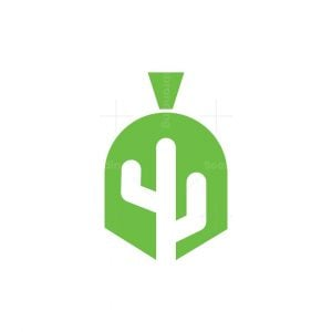 Spartan Cactus Logo